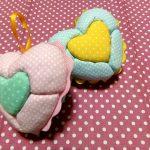 Corações em Patchwork Embutido