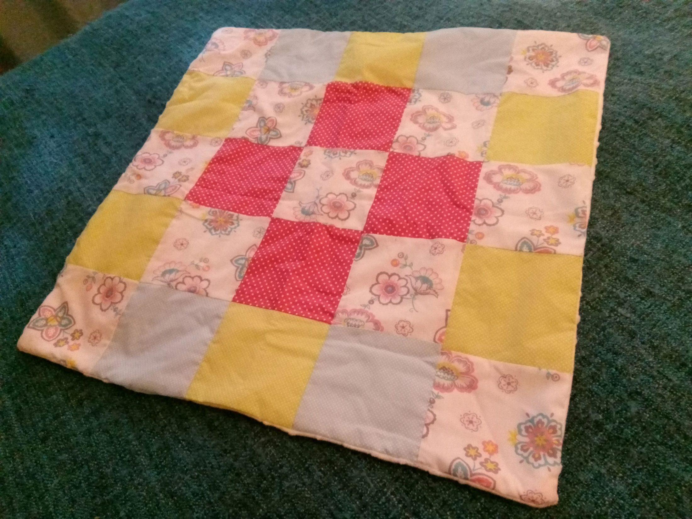 Mantinha-patchwork