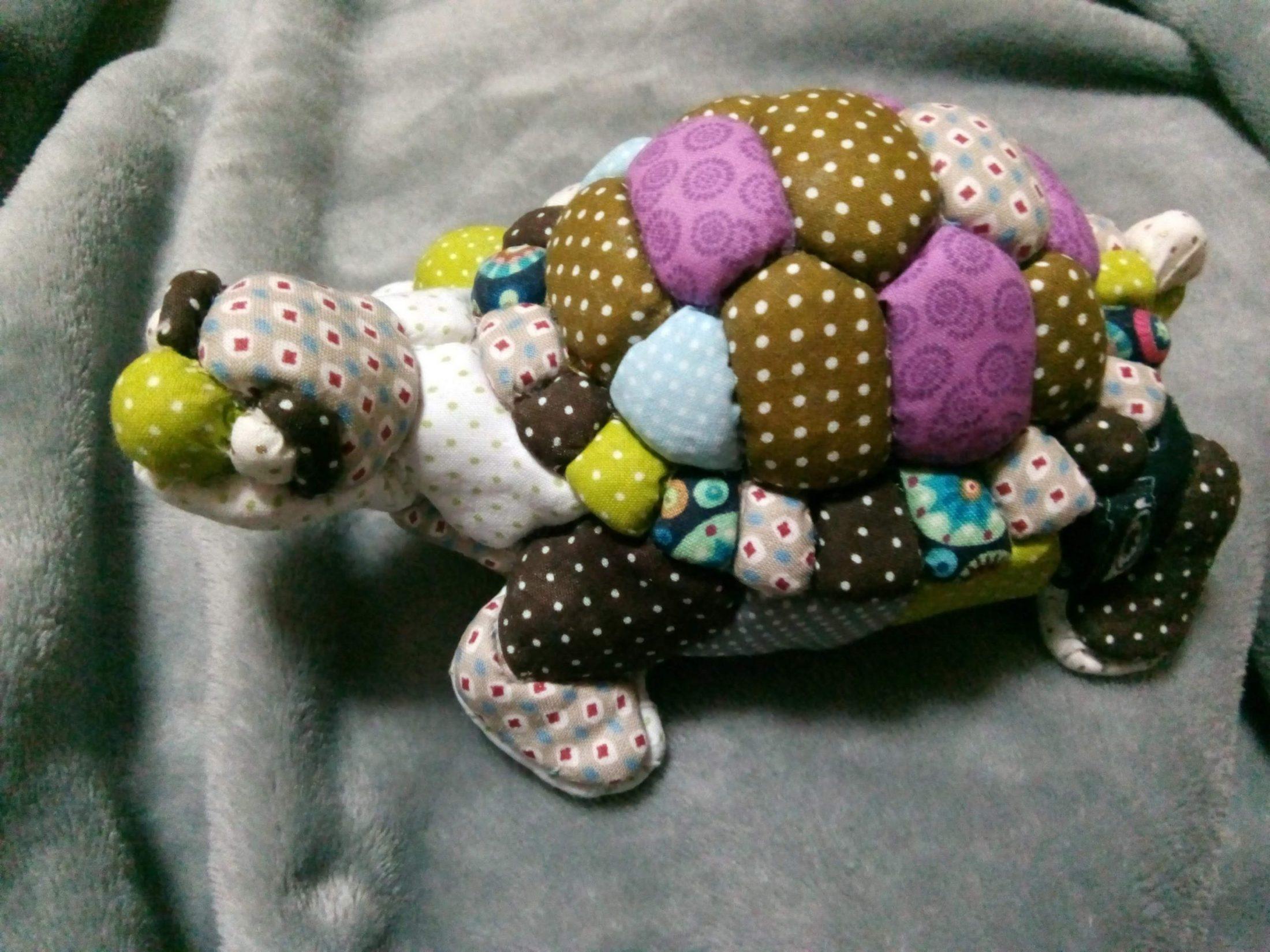 Tartaruga em Patchwork