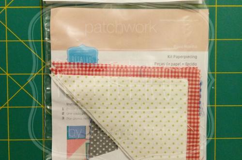 Kit papel e tecido bloco moinho