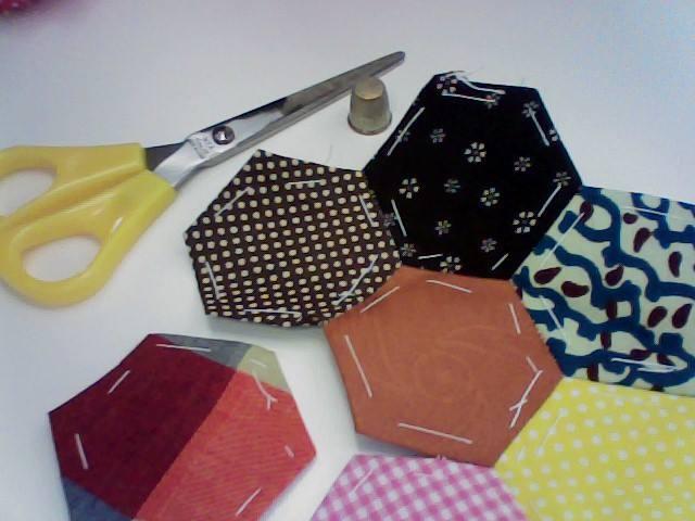 Hexágonos Paperpiecing
