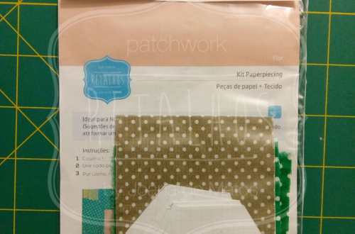 Kit Paperpiecing Bloco Flor